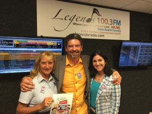 Starr Hunter spoke on the radio about our upcoming food drive !